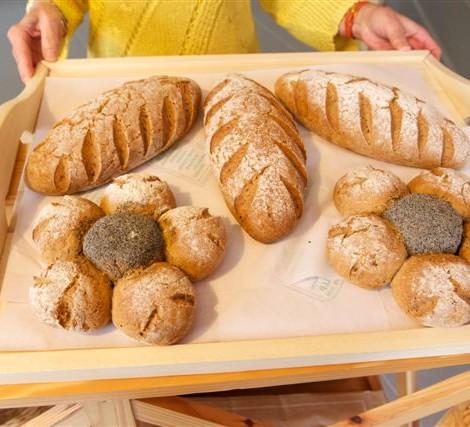 différentes présentations du pain de seigle