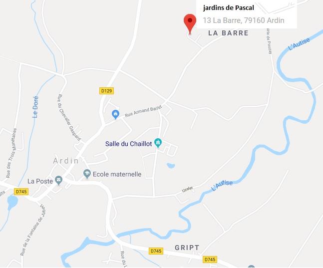 Plan Pascal - lieu de l'assemblée générale 2019 de l'enclos des 4 saisons